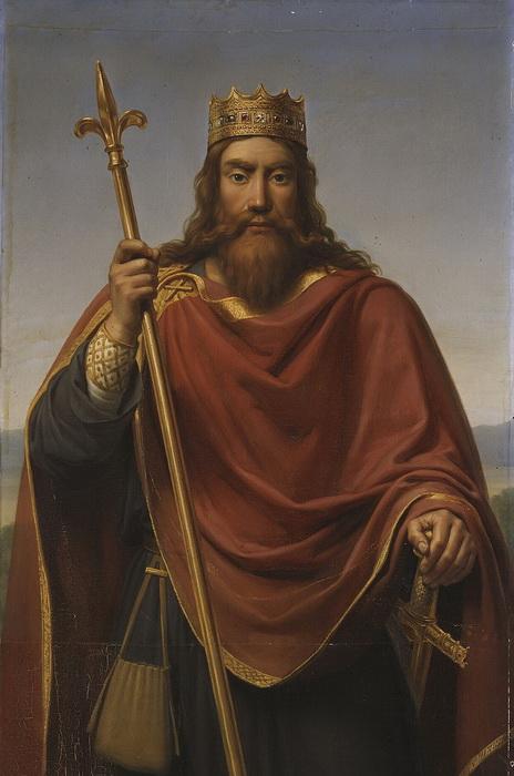 Ф.Л. Дежуинь. Хлодвиг, король франков